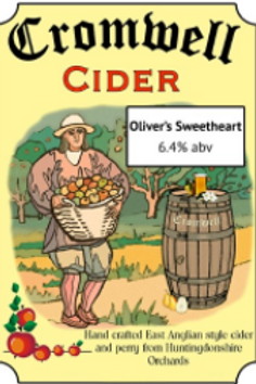 Cromwell Cider-Sweetheart[4 pints]