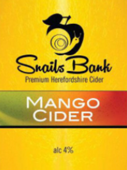Snails Bank-Mango Cider [2 pints]