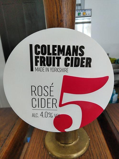 Colemans Cider-Rosé Cider [4 pints]