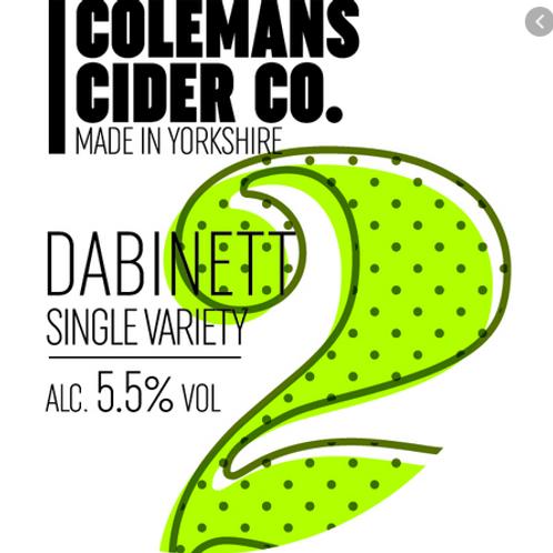 Colemans-Dabinett[4 pints]
