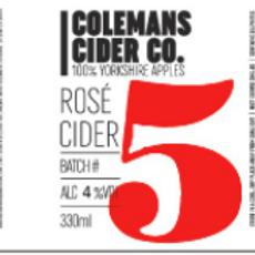 Colemans Cider-Rosé Cider [2 pints]