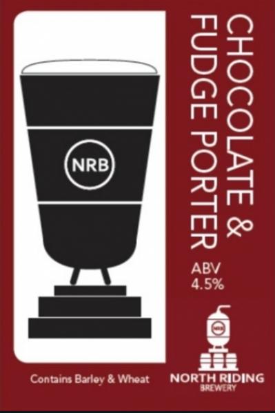 North Riding-Chocolate & Fudge Porter [4 pints]