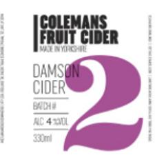 Colemans Cider-Damson Cider [2 pints]