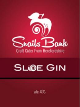 Snails Bank-Sloe Gin Cider[2 pints]