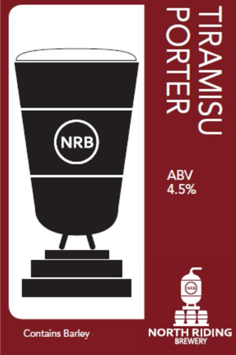 North Riding-Tiramisu Porter[4 pints]