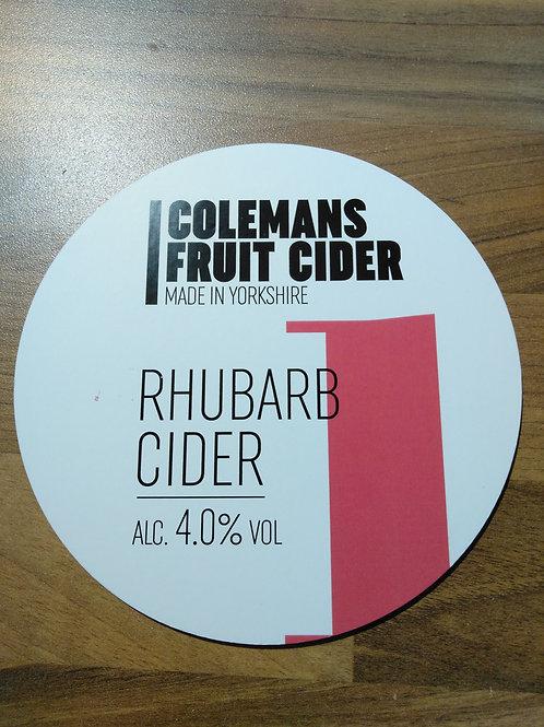 Colemans Cider-Rhubarb Cider [4 pints]