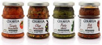 Colavita Ireland, Dalton food, pesto, bruschetta
