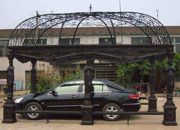 Pavillon aus Gusseisen