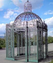 Pavillon mit Ornamentik