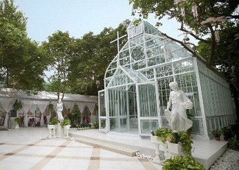 Orangerie aus Stahl