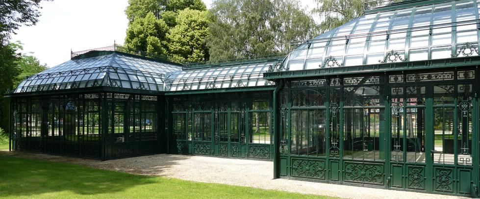 Orangerie mit Korridor