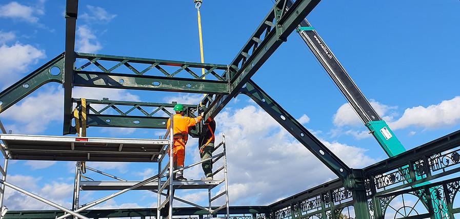 Dachtragwerkskonstruktion