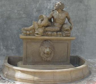 Wandbrunnen Poseidon