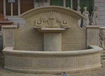 Art Deco Wandbrunnen
