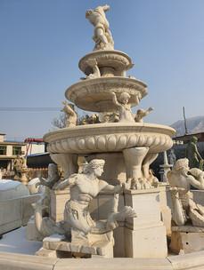 Brunnen mit Nixen