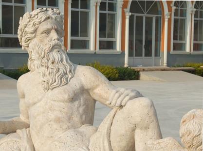 Männerstatue