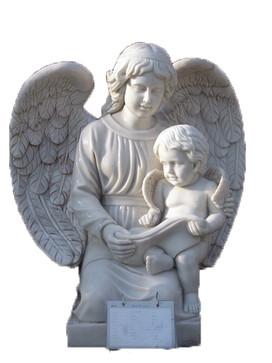 Engel mit Baby
