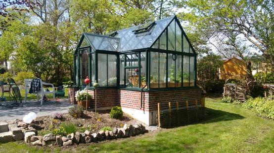 Gartenhaus aus Stahl