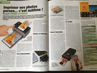 Kodak Photo Printer on magazine MICRO PRATIQUE