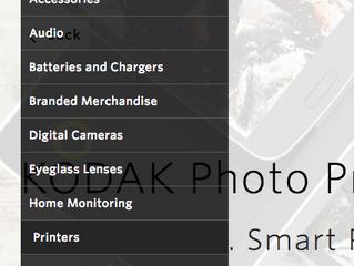 KODAK photo printer on Kodak.com