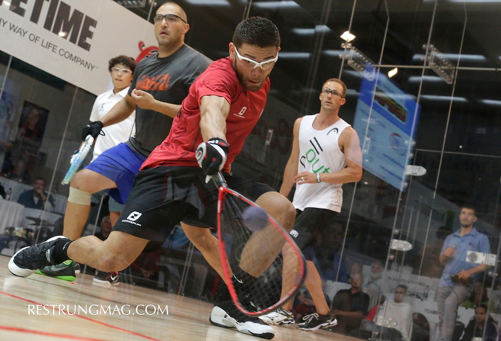 Styles Make Fights; Pro Doubles At The Open