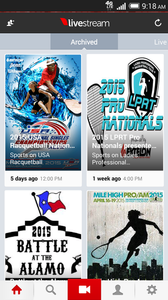 USA Racquetball: A Good Reflection With Streaming At National Singles