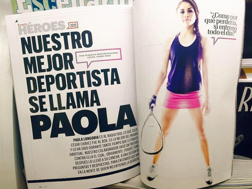 Esquire Mexico - Longoria