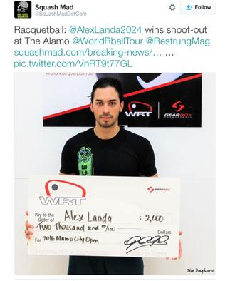 World Racquetball Tour's Strong 2016 Ending: Steps Towards More Legitimacy