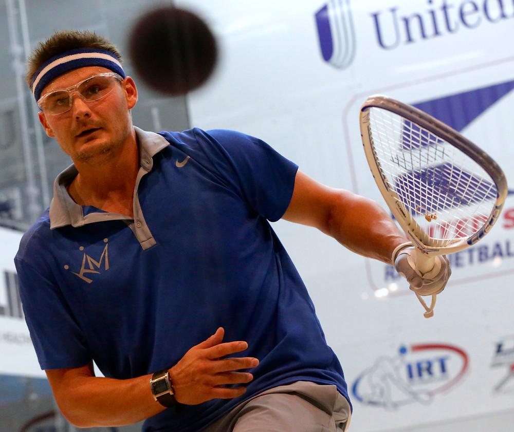 Men's Pro Racquetball Seeks Its Level
