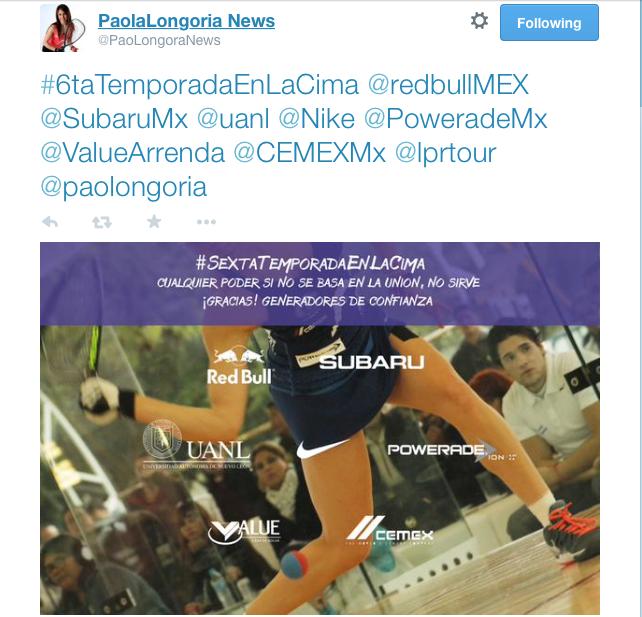 Paola Longoria News