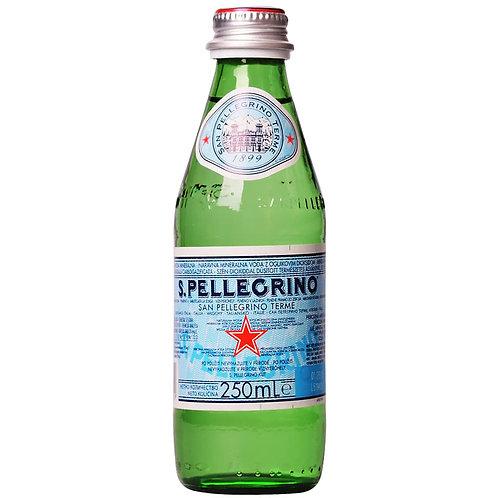 мин. газирана вода San Pellegrino 250 мл./стъкло