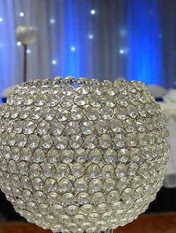 Crystal Globe Centrepiece