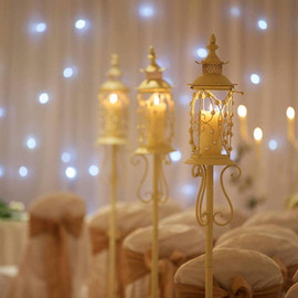 tall birdcage lanterns
