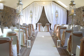 Bespoke wedding drape