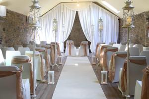 Bespoke wedding drape