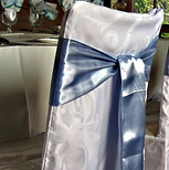 Damask chair covers