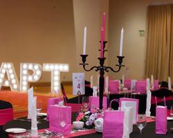 Pink & Black theme