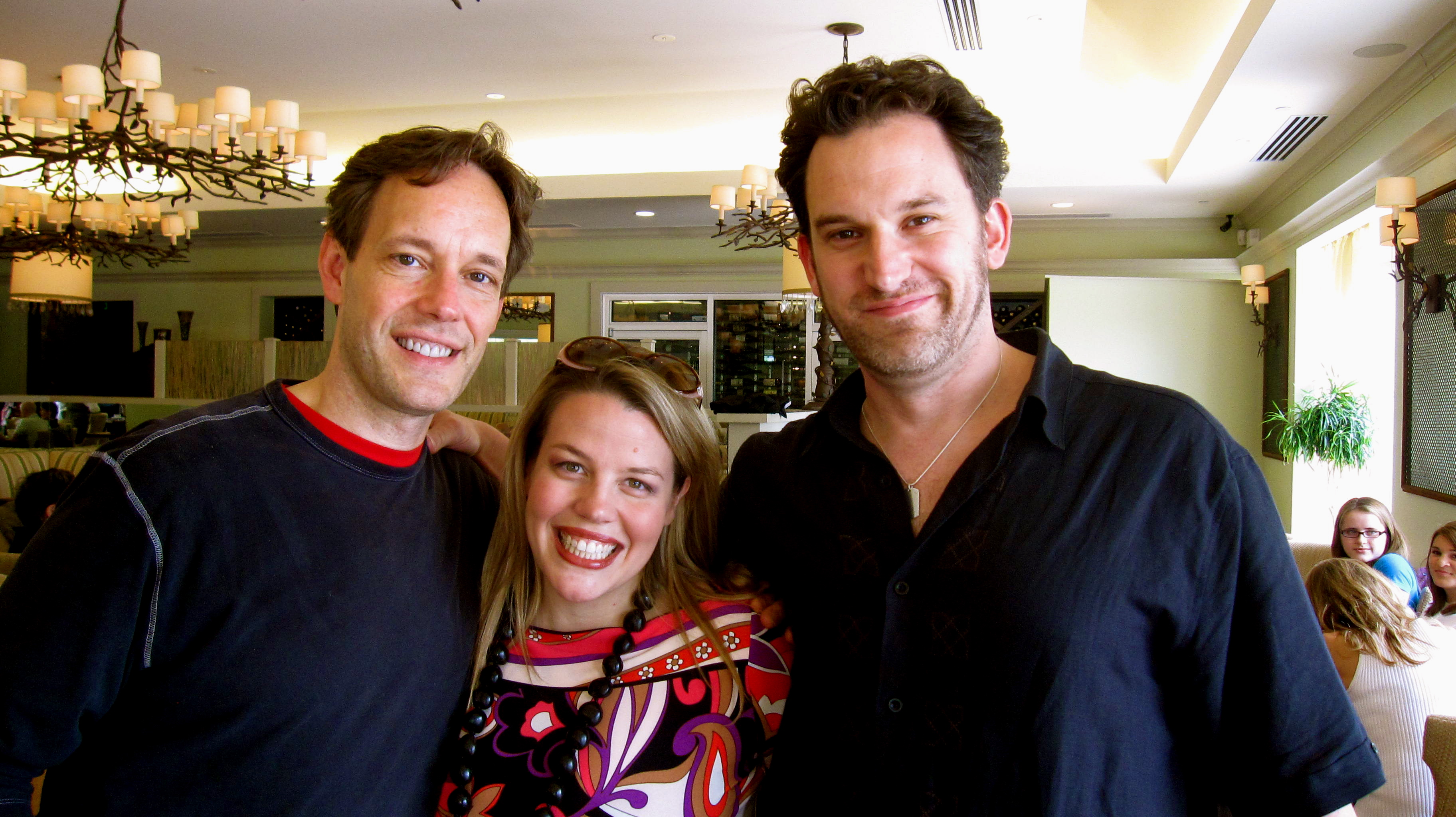 with Jake Heggie and Morgan Smith