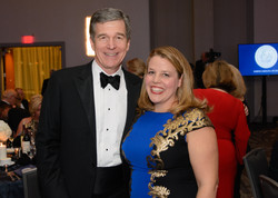 with NC Gov. Roy Cooper