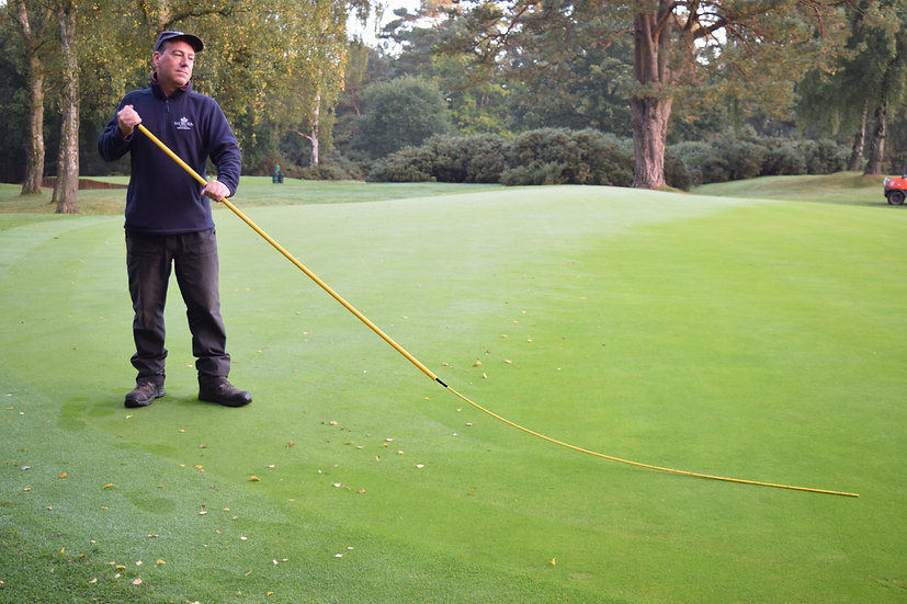 The Big Banana Dew Switch from BMS is designed for the removal of dew, leaves and worm castings from golf greens.