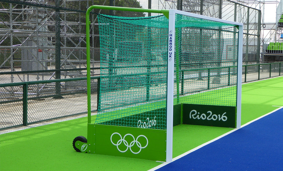 Integral self weighted quality hockey goals from the UK's leading manufacturer Harrod Sport.