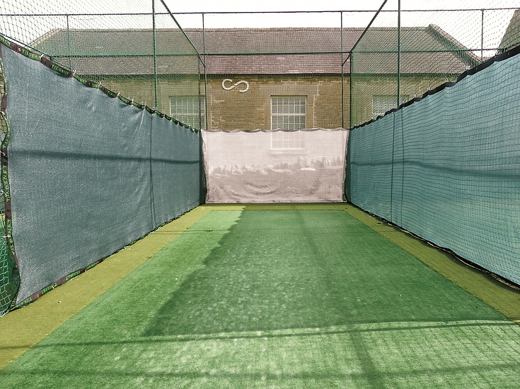 Cricket Net Blinkers for use with static cricket net systems. Standard colour is green, other colour are available on request