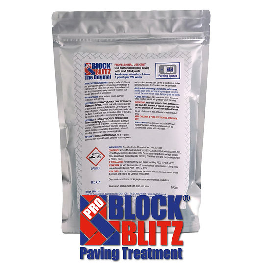 Block Blitz® Pro Original - Block Paving 1KG