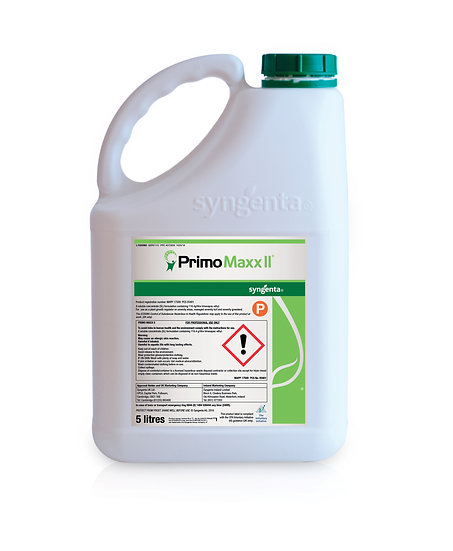 Syngenta's Primo Maxx II is a professional turf grass growth regulator to increase sward density & root mass, & reduce mowing