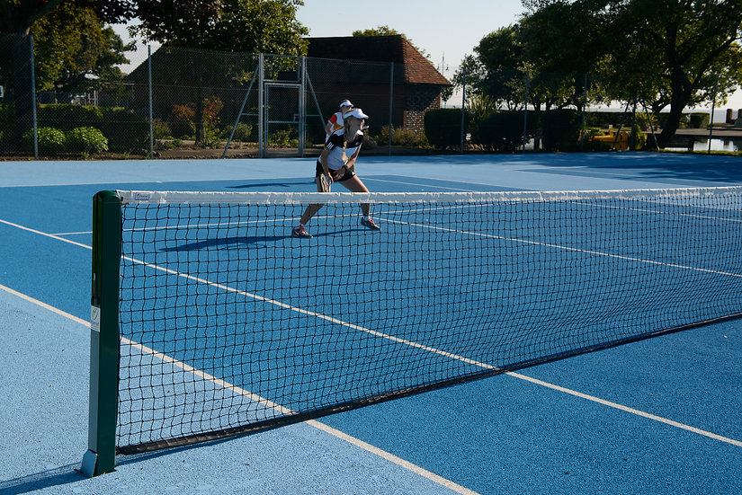 S8 Square Steel Tennis Posts from Harrod Sport, made from quality materials and designed for tennis clubs and schools.