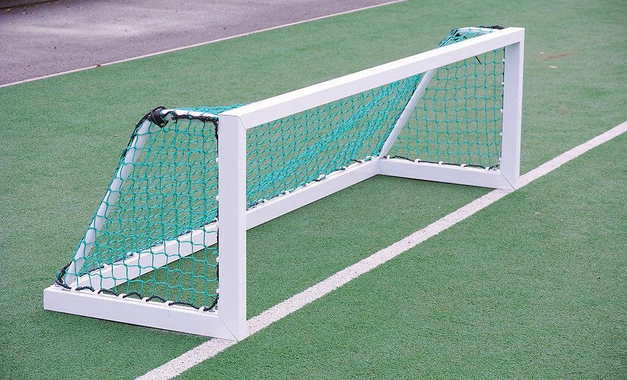 Lightweight mini hockey target goal from Harrod Sport.