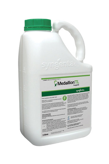 Syngenta Medallion TL Contact+ fungicide to combat Microdochium (fusarium) patch, leaf spot and anthracnose on sports turf.