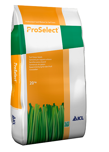 ICL ProSelect 7 Sport TRT is a blend of 3 perennial ryegrass seed cultivars for sports turf renovation. Includes Torsion TRT.