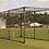 These mobile cricket nets from Tildenet are easy to assemble and manoeuvrable, with retractable wheels and lifting bar.