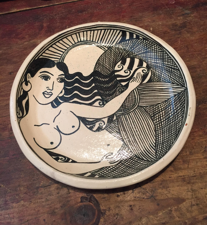 Plato Segundo con Sirena